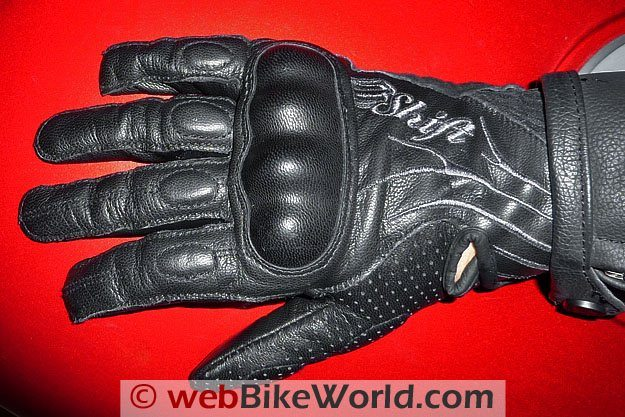 Shift Dynasty Gloves Top View