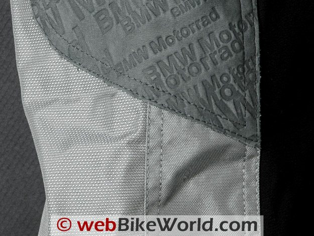 BMW Rallye 3 Pants - Three Different Types of Materials Used in Pants