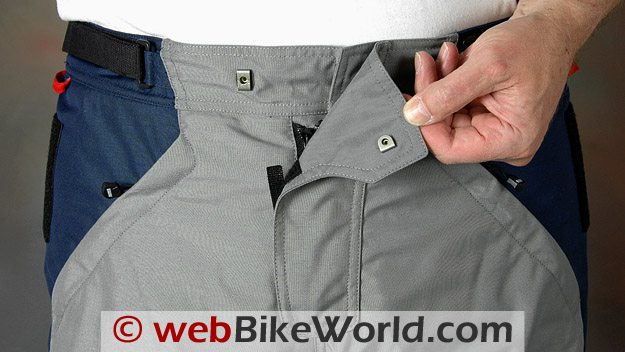 BMW Rallye 3 Pants - Waist and Hook