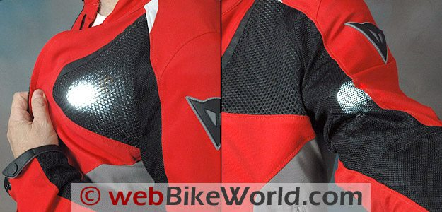 Dainese Shotgun Jacket - Air Flow Through Mesh