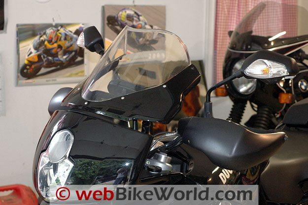 Original Equipment Ducati Multistrada Windscreen