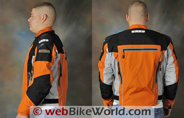 "Speed and Strength Hell ""n Back Jacket - Side and Rear View"