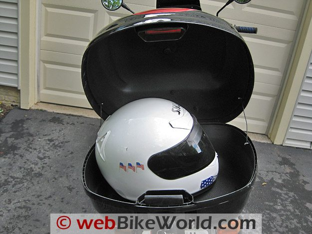 JC Whitney Top Case - Holds a Full-Face Helmet