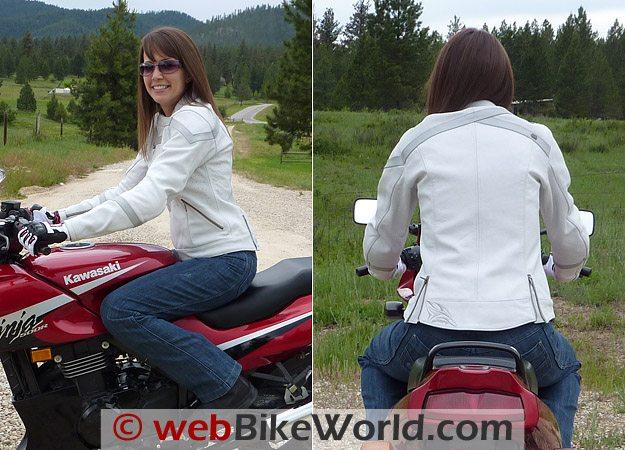 Shift Viper Jacket - Side and Rear Views