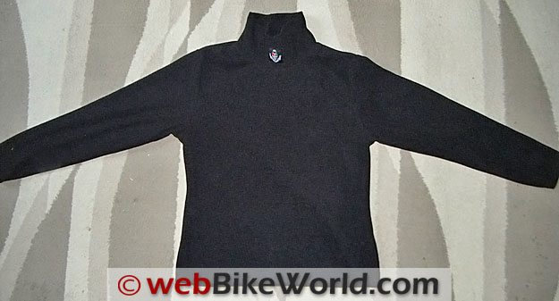 CGR Bike Gear Fleece Polo - Front View