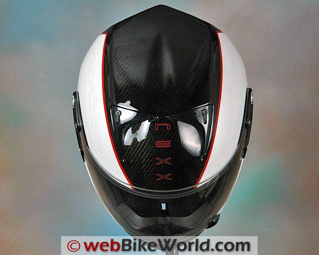 Nexx XR1R Carbon - Top View