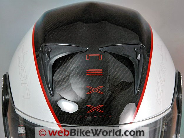 Nexx XR1R Carbon - Top Vents