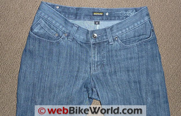 Shift Silhouette Jeans - Front View