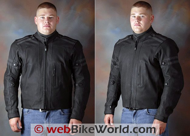 Teiz Motorsports Saratoga Jacket - Front Views