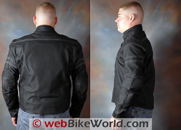 Teiz Motorsports Saratoga Jacket - Rear and Side Views