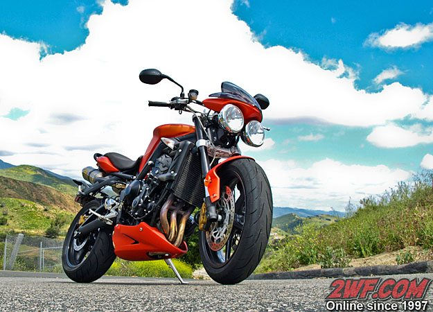 Triumph Street Triple R Review Webbikeworld
