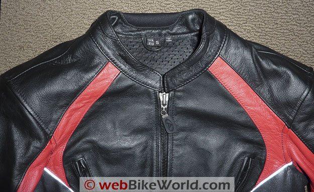 AGV Sport Venus Jacket - Collar Details