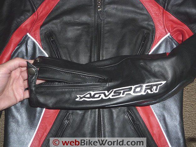 AGV Sport Venus Jacket - Sleeve Details