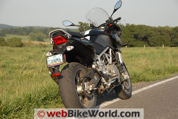 Aprilia Mana 850 GT - Rear View