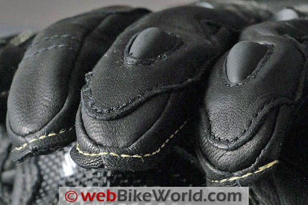 Eska GP Pro Gloves - Close-up of Fingertips