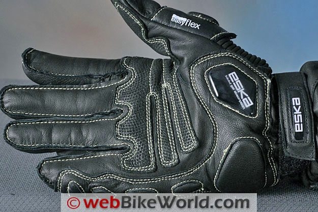 Eska GP Pro Gloves - Gel Pad on Heel of Hand