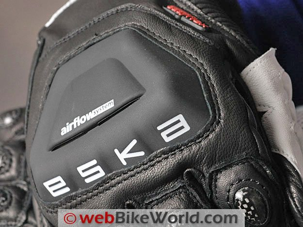 Eska Indianapolis Gloves - Main Knuckle Protector