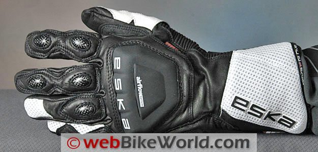 Eska Indianapolis Gloves - Top View