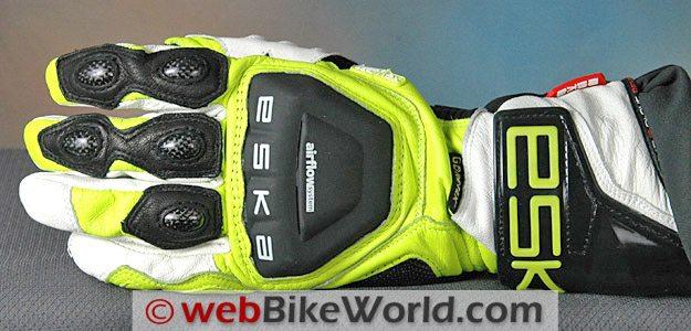 Eska Indianapolis GTX Gloves - Top View