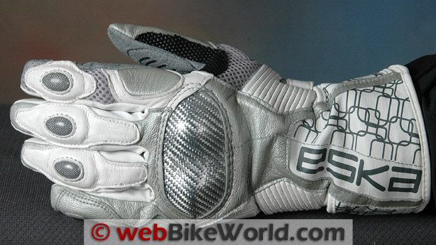 Eska Squadrato Gloves - Top View
