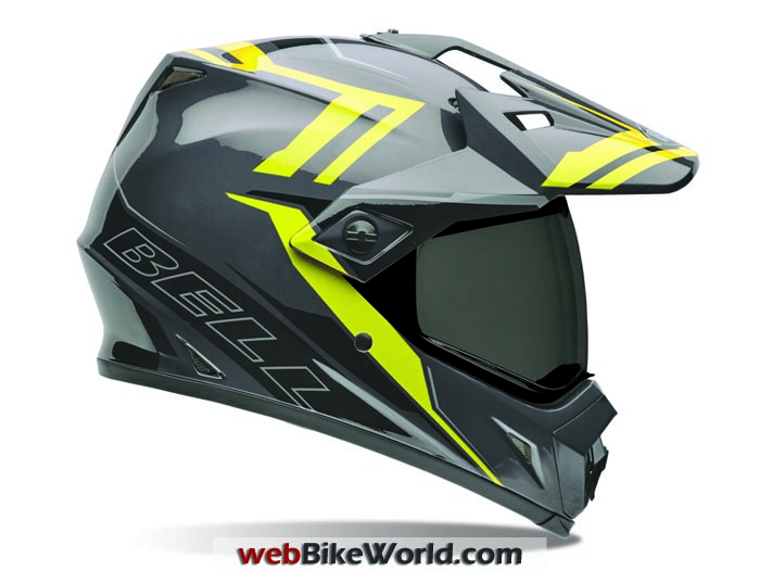 Bell MX-9 Adventure Barricade Hi-Viz Graphics