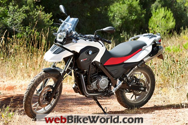 BMW G 650 GS Outdoors