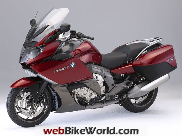 BMW K1600GT and K1600 GTL - Left Side