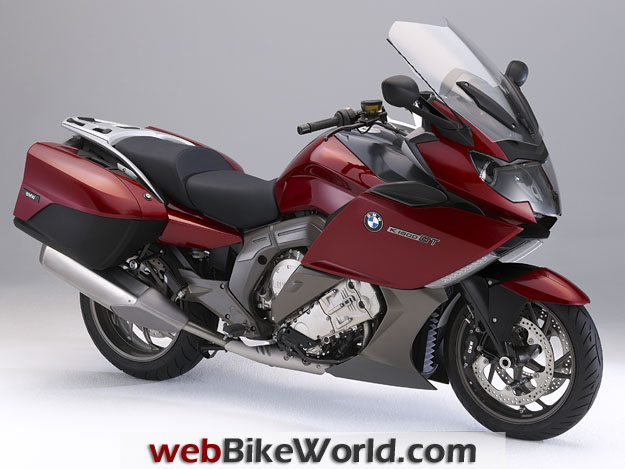 BMW K1600GT and K1600 GTL - Red, Right Side