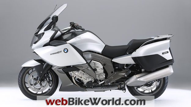 BMW K1600GT and K1600 GTL - White, Left Side