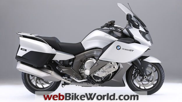 BMW K1600GT and K1600 GTL - White, Right Side