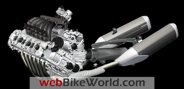 BMW K 1600 GT Concept 6-Cylinder Engine