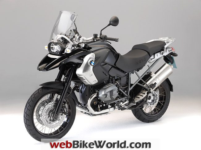 BMW R 1200 GS Triple Black, Left Side