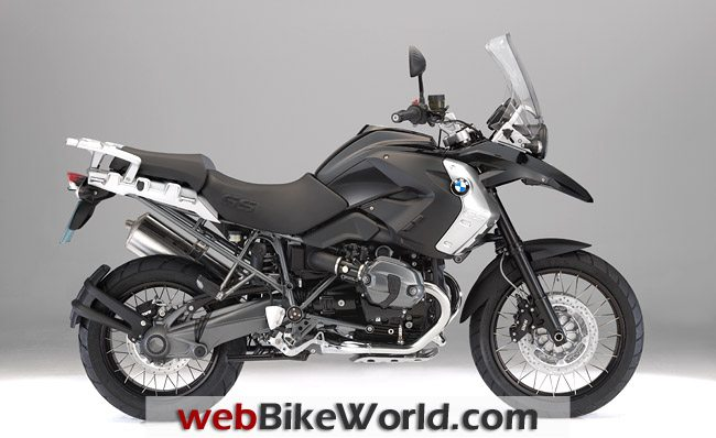 BMW R 1200 GS Triple Black, Right Side