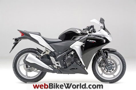 Honda CBR250R - Black, Right Side