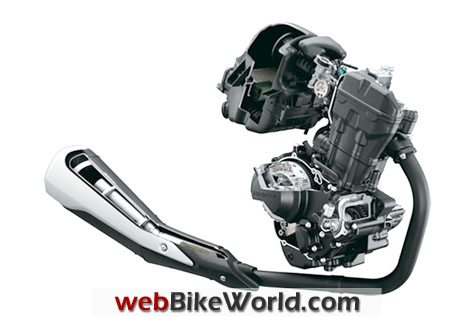 Honda CBR250R Engine