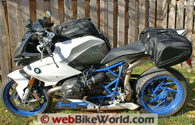 Motocentric Mototrek Luggage on BMW HP2