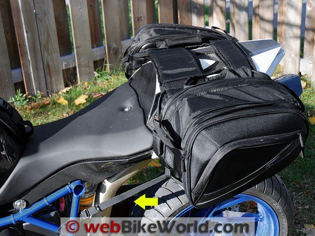 Motocentric Mototrek Saddlebag Straps