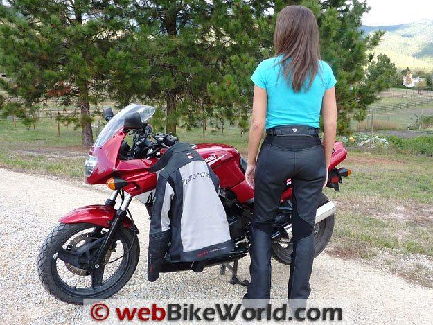 Rev'it Marryl Pants Rear View