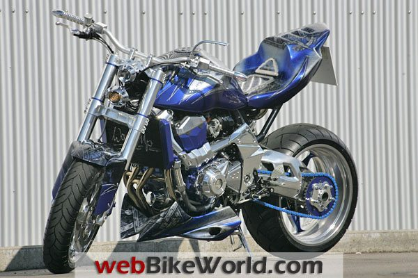 2010 Kawasaki Z1000 WARM-UP KONQUISTADOR Custom