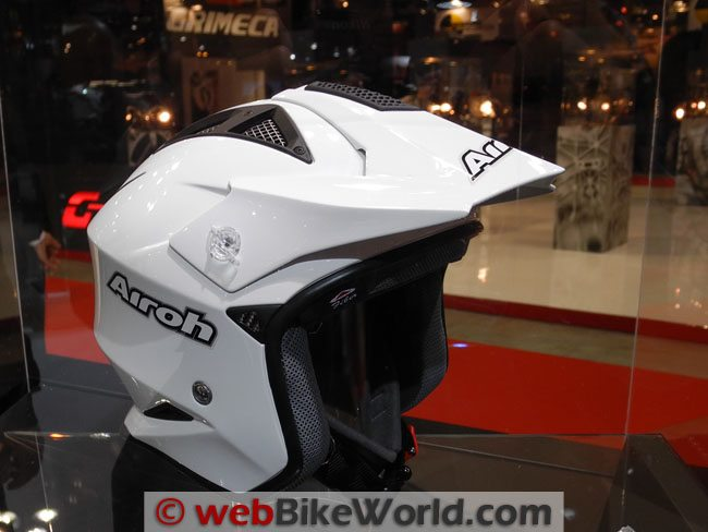 Airoh Adventure Touring Helmet Converted