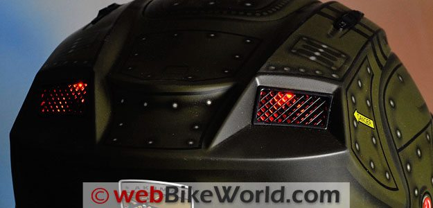 Akuma Apache - Rear LED Lights