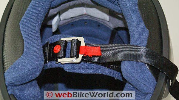 Blutek Bluetooth Motorcycle Helmet - Chin Strap