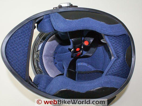 Blutek Bluetooth Motorcycle Helmet - Liner
