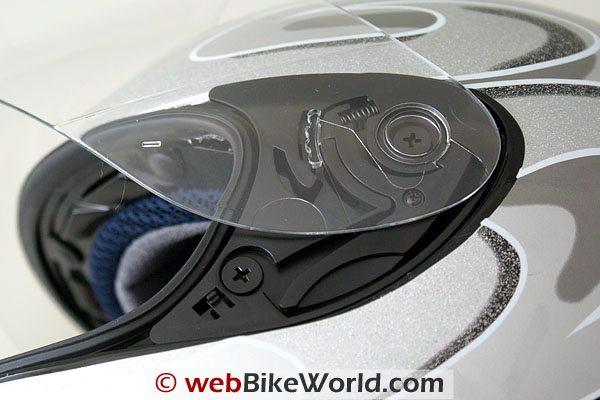 Blutek Bluetooth Motorcycle Helmet - Visor Removal
