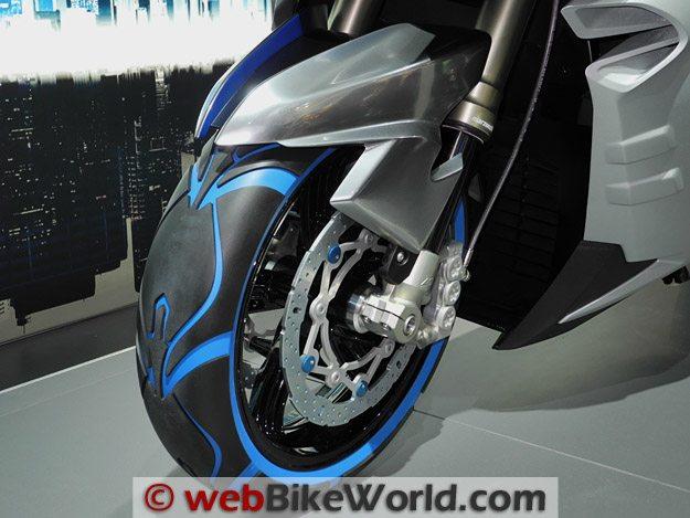 BMW Concept C Front Brake