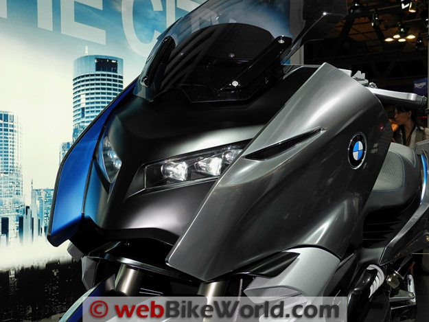 BMW Concept C Headlight