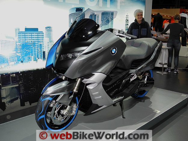 BMW Concept C Left Side