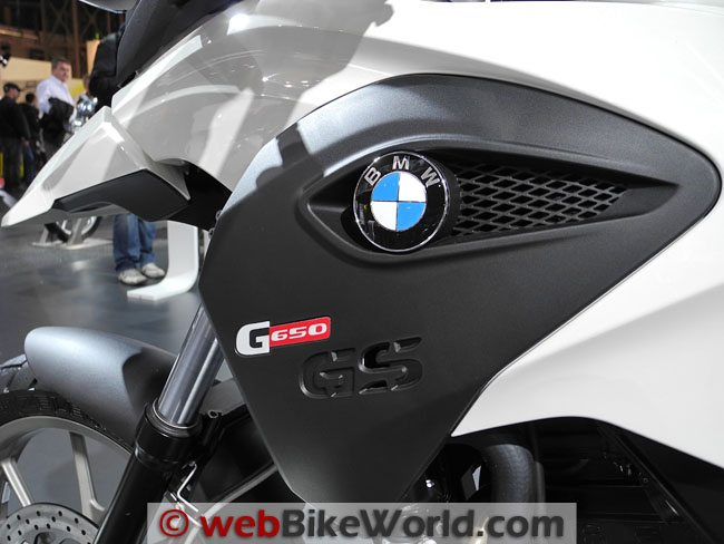 BMW G650GS Storage Tank