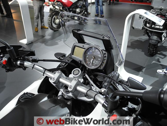 BMW G650GS Instruments