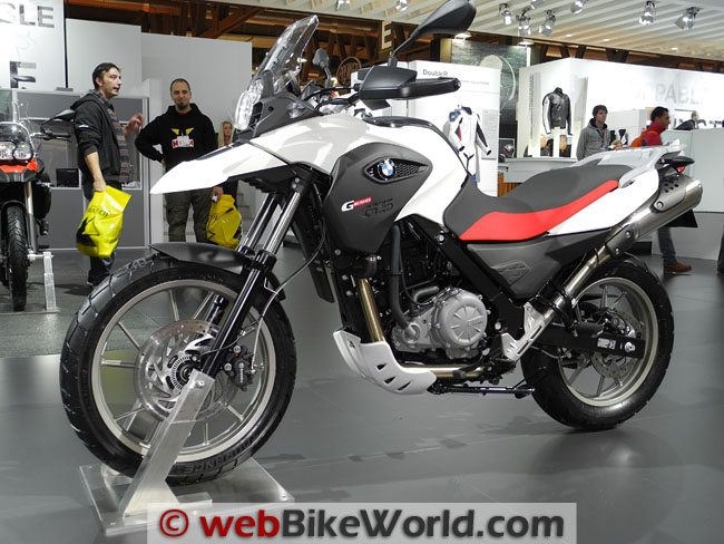 BMW G650GS - Left Side